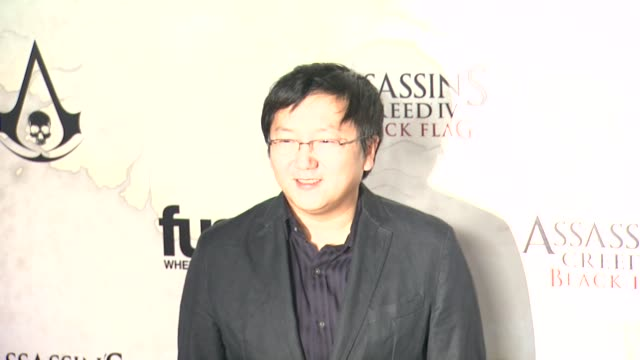 Masi Oka at Assassin's Creed IV Black Flag Launch Party on 10/22/13 in Los Angeles CA