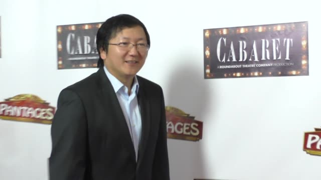 Masi Oka at the Opening Of Cabaret At Hollywood Pantages Theatre Celebrity Sightings on July 20 2016 in Los Angeles California