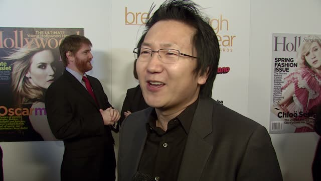 Masi Oka on receiving an award tonight on how it feels to be recognized as a breakthrough actor on the television show 'Heroes' and on attending the...