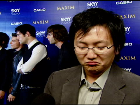 Masi Oka on the event the new Casio camera if he takes a lot of photos and if Britney can make a comeback at the The Maxim Style Awards Presented by...