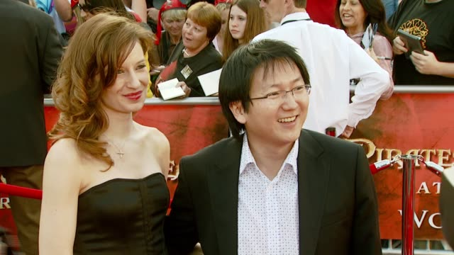 Masi Oka with guest at the 'Pirates of the Caribbean At World's End' World Premiere at Disneyland in Anaheim California on May 19 2007
