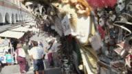 MS PAN Masquerade masks at street market / Venice, Italy