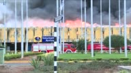 A massive fire shut down Nairobis international airport on Wednesday with flights diverted to regional cities as firefighters battled to put out the...