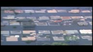 WGNO Massive Floods Take Over New Orleans During Hurricane Katrina on August 29 2005 in New Orleans Louisiana