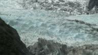 WS HA Massive ice crust of glacier / Franz Josef Glacier, New Zealand