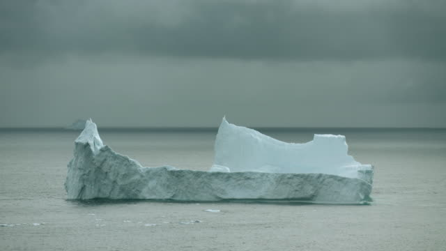 Massive Iceberg Floats In Arctic Waters
