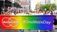 "MasterCard Launches ""One More Day"" Campaign to Encourage Americans to Take Their Vacation /The Annual New York City Gay Pride Parade / The parade..."