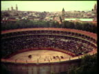 1953 WS Matadors progress out and into the arena / Pamplona, Spain / AUDIO
