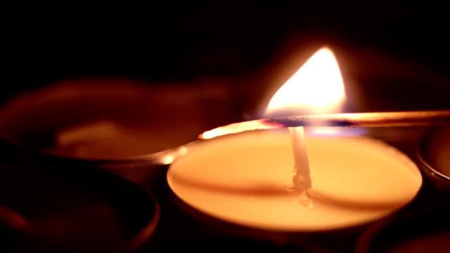 match lights a candle
