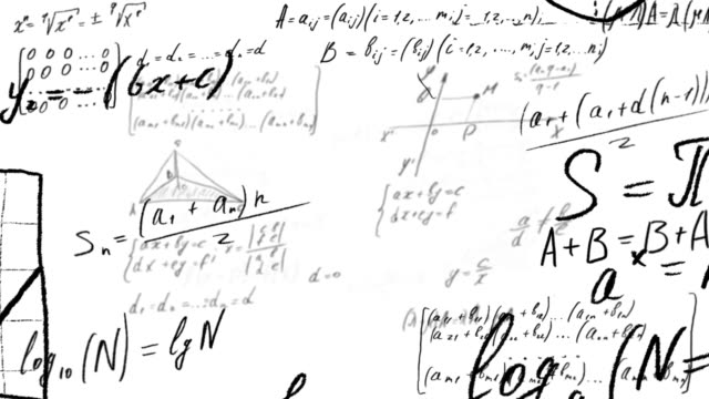 Mathematical calculations and formulas