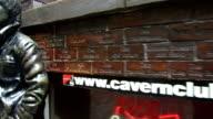 Mathew Street's iconic John Lennon statue on August 14 2017 in Liverpool England