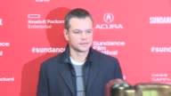 Matt Damon at 'Manchester By The Sea' Screening 2016 Sundance Film Festival at Eccles Center Theatre on January 23 2016 in Park City Utah