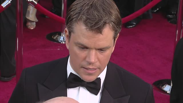 Matt Damon at the 82nd Annual Academy Awards Arrivals Part 2 at Los Angeles CA