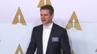 Matt Damon at the 89th Annual Academy Awards Nominee Luncheon at The Beverly Hilton Hotel on February 06 2017 in Beverly Hills California