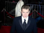 Matt Damon at the 'Ocean's Twelve' Los Angeles Premiere Arrivals at Grauman's Chinese Theatre in Hollywood California on December 8 2004