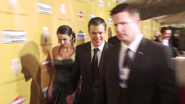 Matt Damon at the The Weinstein Company Golden Globe Awards AfterParty at Beverly Hills CA