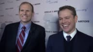 CLEAN –Matt Damon Gary White Stella Artois and Waterorg Host Panel Discussion at World Economic Forum at Steigenberger Grandhotel Belvédère on...