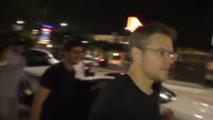 Matt Damon leaving Toca Madera Restaurant in West Hollywood in Celebrity Sightings in Los Angeles