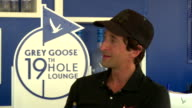 INTERVIEW Matt Kuchar and Adrien Brody talk about hanging together and the possibility of Matt being ranked in the world if he wins the next...