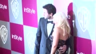 Matt Rutler Christina Aguilera at the 2011 InStyle/Warner Brothers Golden Globe Awards Party at Beverly Hills CA