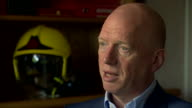 Matt Wrack General Secretary of the Fire Brigades Union says that there is a 'postcode lottery' when it comes to how fires are responded to in the UK...