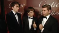 INTERVIEW – Matthew Beard Alex Lawther and Allen Leech on receiving the Ensemble Performance Award for The Imitation Game what makes this festival...