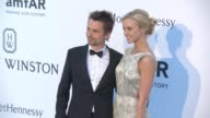 Matthew Bellamy Ella Evans at amfAR 22nd Cinema Against AIDS Gala Presented By Bold Films And Harry Winston at Hotel du CapEdenRoc on May 21 2015 in...