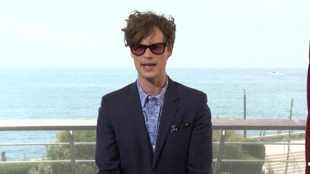 INTERVIEW Matthew Gray Gubler at 55th Monte Carlo TV Festival Day 2 on June 16 2015 in MonteCarlo Monaco