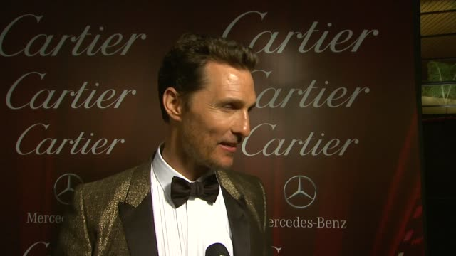INTERVIEW Matthew McConaughey on the festival at the 25th Annual Palm Springs International Film Festival Awards Gala Presented By Cartier in Palm...
