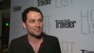 Matthew Rhys on the event at the Conde Nast Traveler Hot List Party at West Hollywood CA