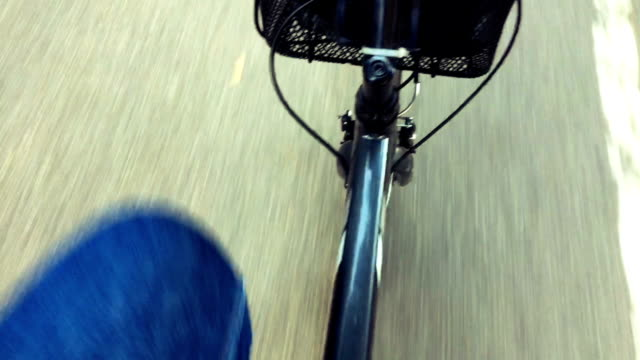 Mature Man Driving a Bike, Personal Perspective
