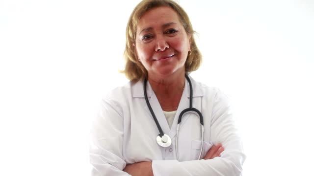 HD: Ältere Frauen Arzt Porträt
