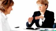 Ältere Frauen in der Geschäftswelt