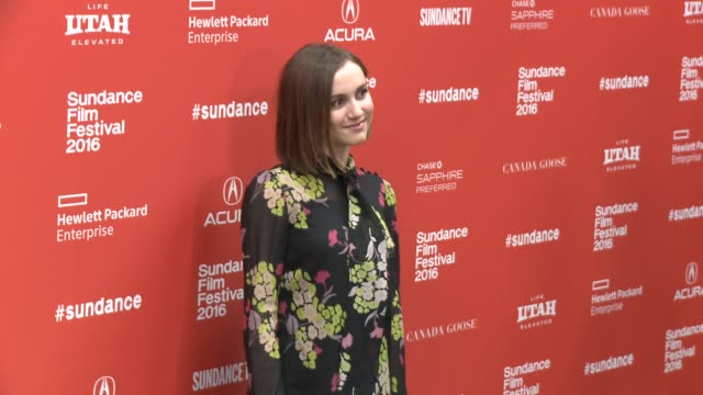 Maude Apatow at 'Other People' Screening 2016 Sundance Film Festival at Eccles Center Theatre on January 21 2016 in Park City Utah