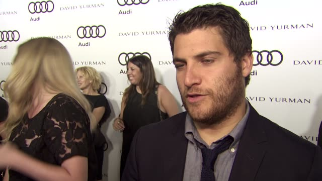 Max Adler on why he wanted to attend the Audi PreEmmy party why he loves Audi cars what some of his favorite television shows are and how he will be...