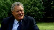 Max Boyce interview SOT Boyce reading verse he has penned to mark occasion SOT Ricky Ponting and Andrew Strauss posing with Ashes trophy