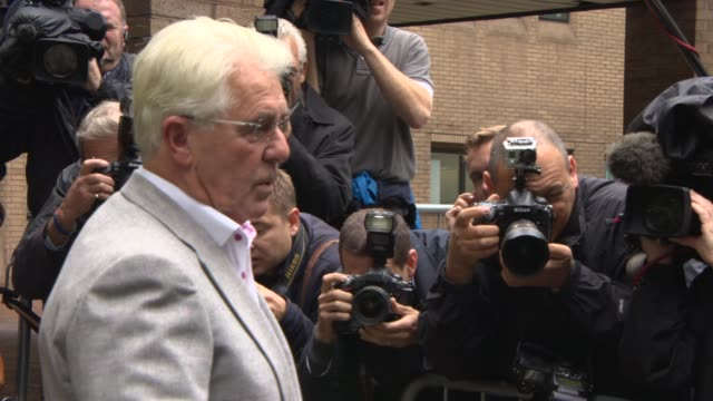 Max Clifford at court plea and case management hearing at Old Bailey on October 04 2013 in London England