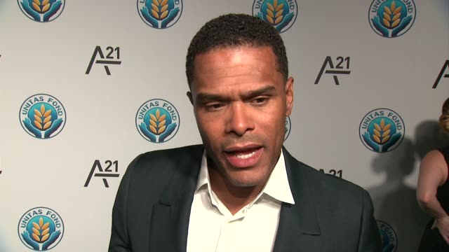 INTERVIEW Maxwell talks about celebrating women at Unitas Gala Against Sex Trafficking at Capitale on September 15 2015 in New York City