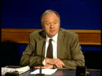 Police warning INT Ken Livingstone press conference SOT My message to public is clear don't attend the Mayday Monopoly actions / And we are...