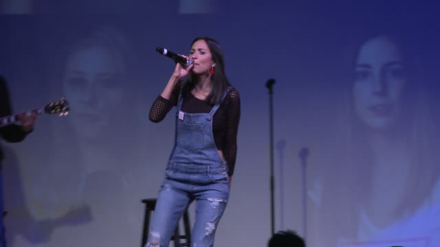 PERFORMANCE Maya Jupiter at GUESS Foundation Supports Peace Over Violence For Denim Day 2015 on April 29 2015 in Los Angeles California