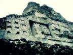 Maya-Ruinen von Xunantunich, Schnitzereien, Belize