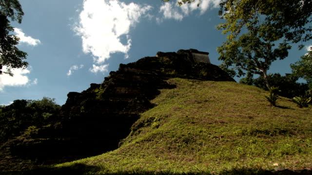 Mayan Temples Ruins in Guatemala