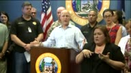 Mayor Advises Everyone To Evacuate Before Hurricane Isaac on August 27 2012 in New Orleans Louisiana