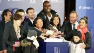 Mayor from a Colombian city Paris 8th district Jeanne d'Hautesserres Bruno Julliard Paris mayor Anne Hidalgo Judoka Champion Teddy Riner Champs...