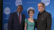 Mayor of Houston Sylvester Turner Margaret Alkek Williams and Michael Bolton at 2017 UNICEF Audrey Hepburn Society Ball on May 24 2017 in Houston...