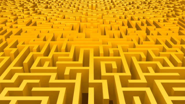 Maze Move Yellow