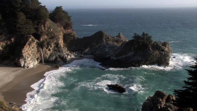 Mc Way Falls California Central Coast Locked Wide