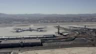 McCarran International Airport Las Vegas Aerial Video