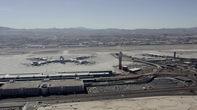 McCarran International Airport Las Vegas Aerial Video
