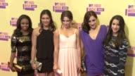 McKayla Maroney Jordyn Wiber Kyla Ross Gabby Douglas Alexandra Raisman at 2012 MTV Video Music Awards on 9/6/2012 in Los Angeles CA